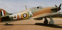DB Sport and Scale Hawker Hurricane 88 Inch