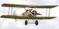DB Sport & Scale Sopwith Pup quarter scale 77 Inch
