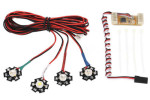High Power Quadcopter LED Lighting System