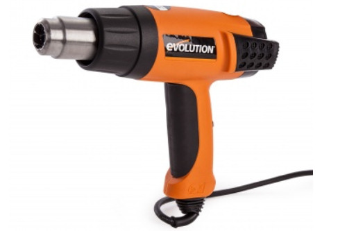 Professional Heat Gun with digital display and variable heat and fan speed