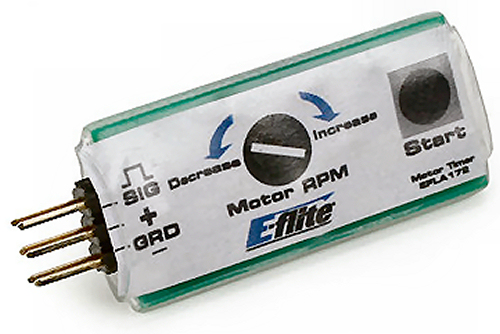 Control line motor timer e flite efla172 from 4 max for Timer switch for motor