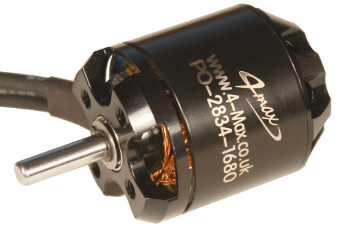 PO-2834-1680 Brushless Outrunner motor from 4-Max