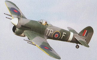 Tony Nijhuis Hawker Typhoon